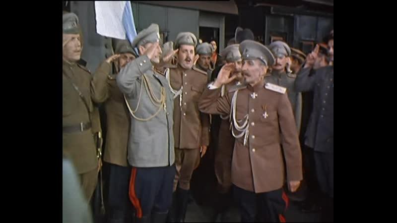 Тихий Дон 1957 Встреча Корнилова