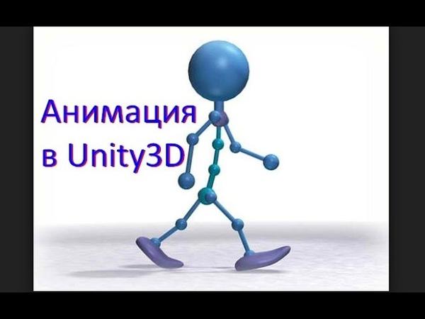 Анимация в Unity Как создать игру Урок 6
