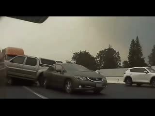 Авария в Калифорнии