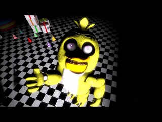(SFM) FNAF2 Chica Sings the Pizza Song