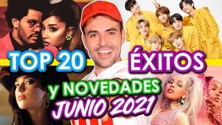 TOP 20 ÉXITOS DEL MOMENTO + CANCIONES NUEVAS JUNIO 2021 EN INGLES Y ESPAÑOL | Wow Qué Pasa