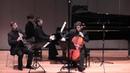 Brahms Clarinet Trio 1st Mvt (Sebastian Manz, Charles-Antoine Duflot, Martin Klett)