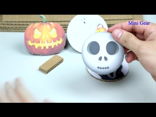 DIY Halloween Game - Toy Gun Lucky Shooting