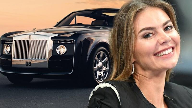 АЛИНА КАБАЕВА КУПИЛА АВТО за 300 000 000 ₽ Rolls Royce ЗОЛОТАЯ ЭКСКЛЮЗИВНАЯ ВЕРСИЯ