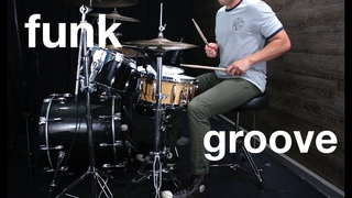 Syncopated Funky Groove - Drum Lesson w/ Eric Fisher