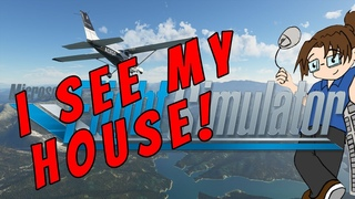 Microsoft Flight Simulator #1 - First Gameplay! - Cessna 152 over my Home Town! #FS2020