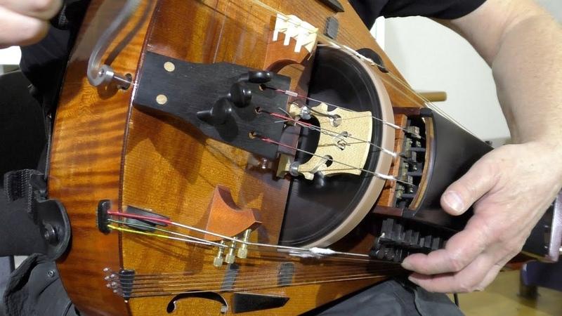 Ritual Dance Medieval Dance Hurdy Gurdy Organ Drum