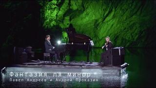 Фантазия для фортепиано и скрипки.  Рояль в каньоне.  PavelAndreevMusic