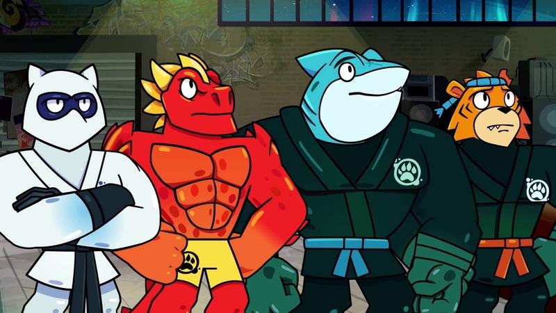 Герои Гуджитсу Эпизод 1 В поисках источника суперсилы ГУ