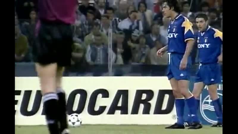 ЛЧ 1995-96 Финал Ювентус - Аякс 1 тайм