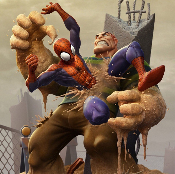 sandman spiderman pictures - HD1762×2343