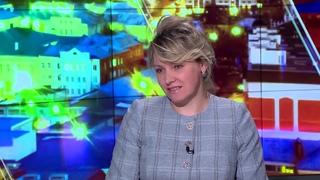 """Интервью с Марией Зорко. Телеканал ТКР. Программа """"Большие новости""""."""