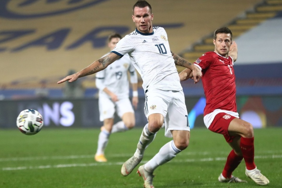 Сербия - Россия, 5:0. Лига Наций. Антон Заболотный