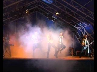 День строителя - концерт на стадионе. г. Павловск