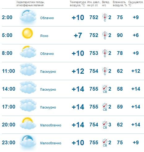 Погода в Нефтекамске на 2 июня: