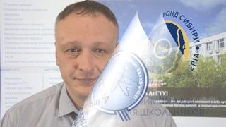 Поздравление победителей олимпиад от зав.кафедрой ВМК, АнГТУ
