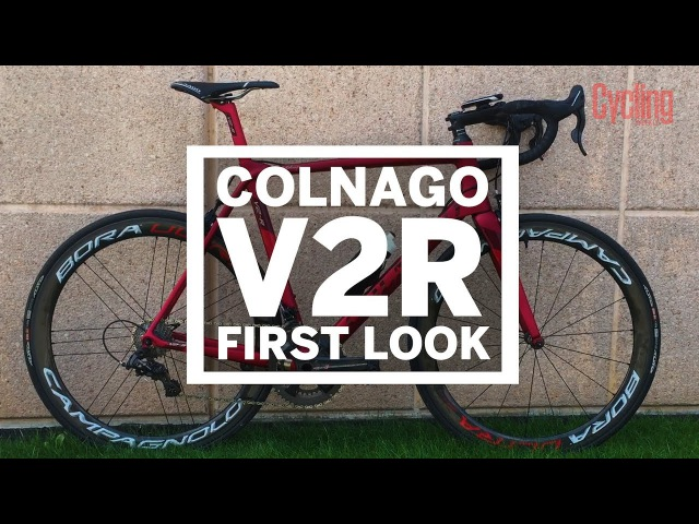 Two-wheeled Ferrari Colnago V2R | First Look | Cycling Weekly