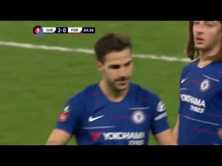 This happened 2 years ago. - What a legend, what a moment. - - We still miss you @cesc4official .mp4