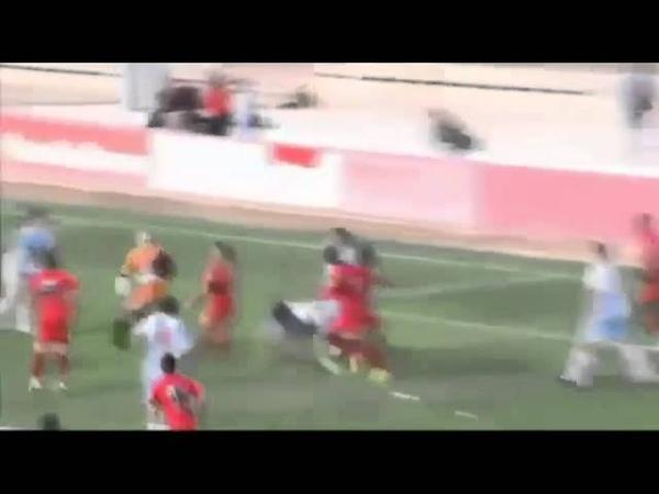 Goalkeeper Tolo Barceló incredible overhead kick GOAL Alcudia Mallorca B 10 11 2013