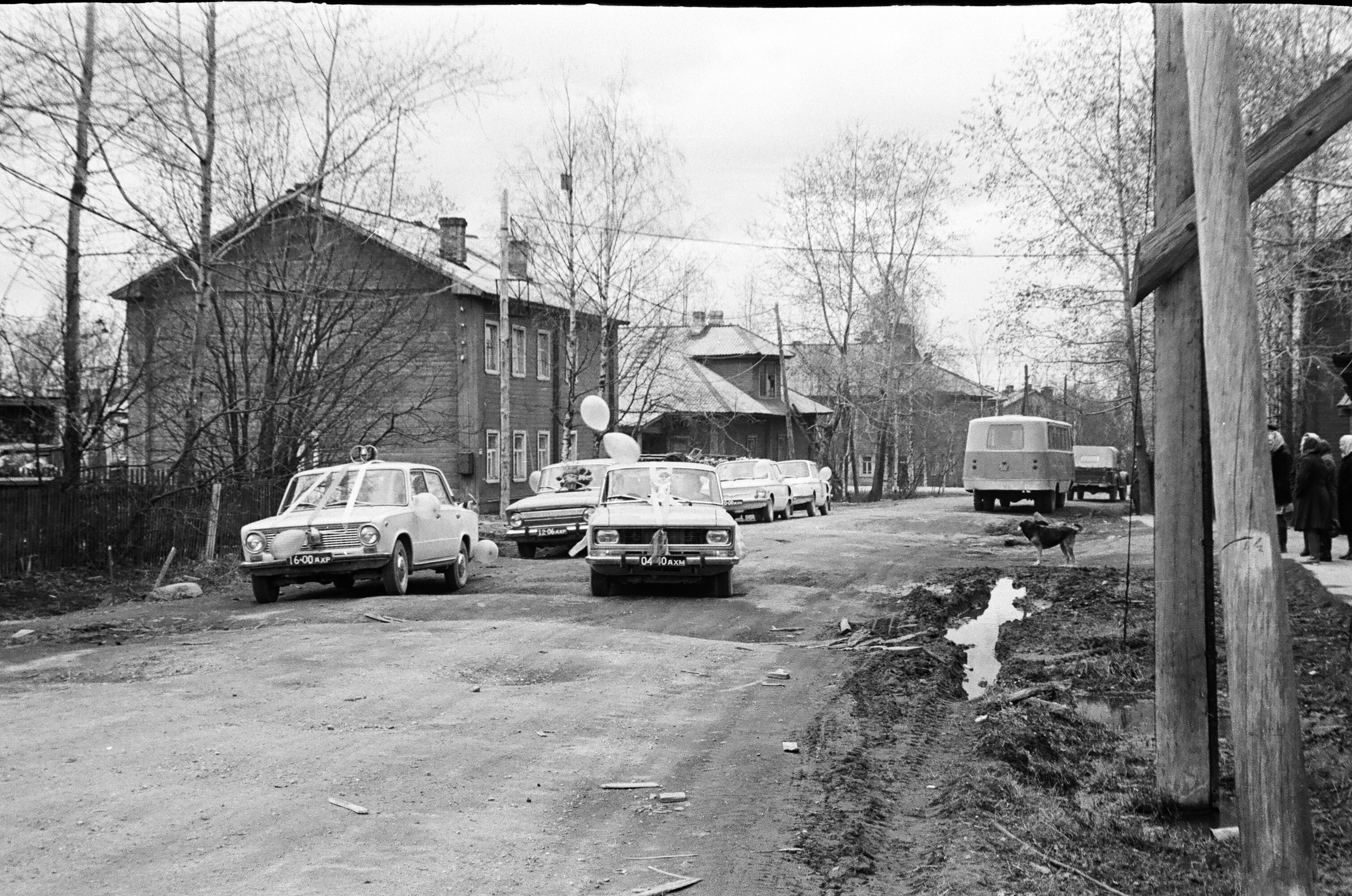 23 мая 1980-го года, п.Коноша, улица Коллективизации.