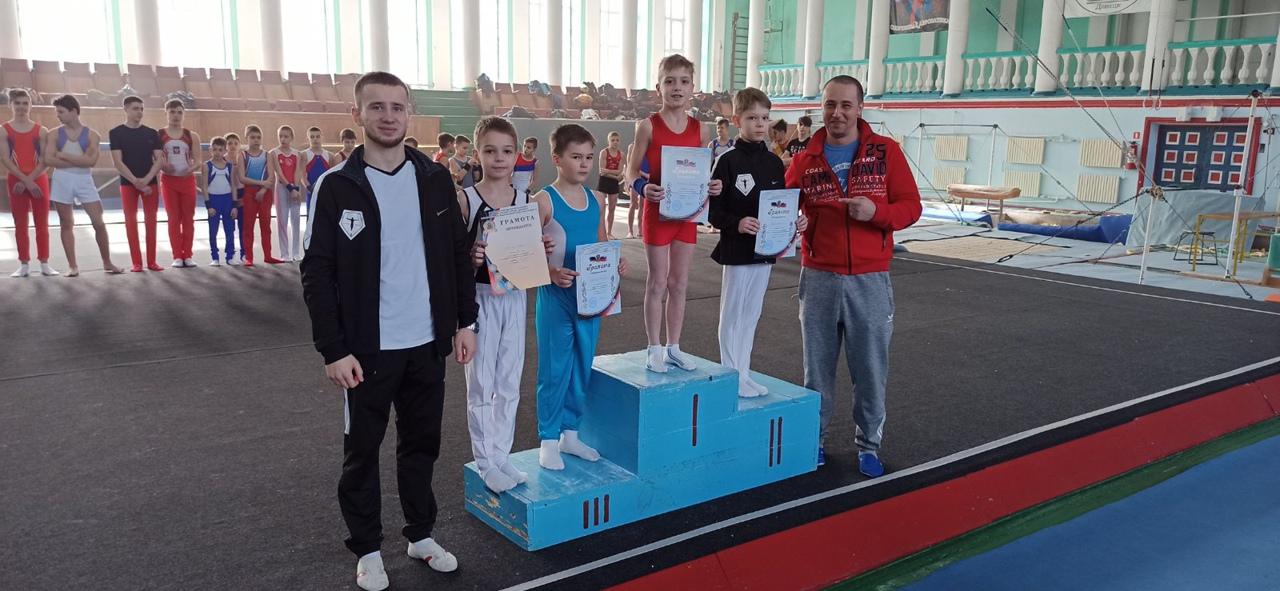 В Донецке прошли соревнования по спортивной гимнастике