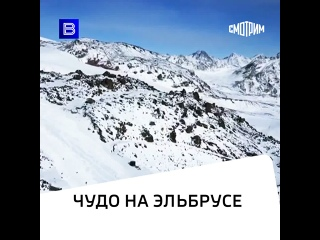 На Эльбрусе нашли живым пропавшего альпиниста