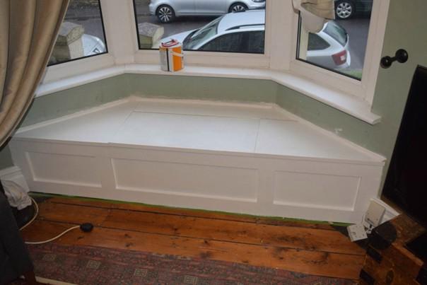 Как построить сиденье у окна #идеи@my.stroyka