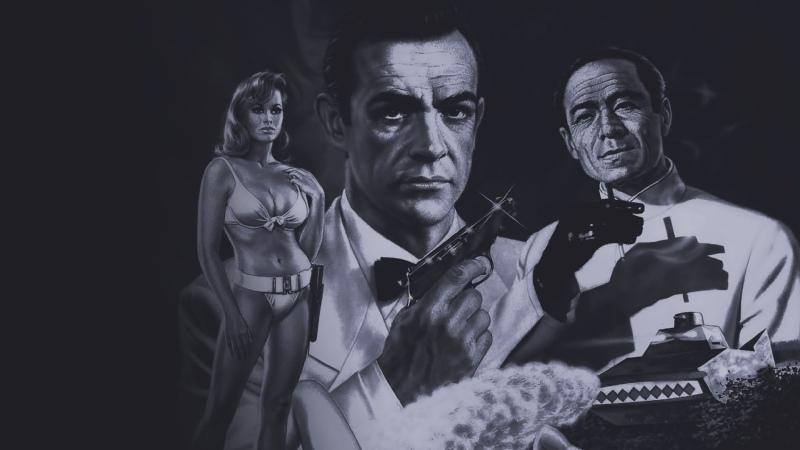 1962 Доkтор Ноу Агент 007 перевод Андрей Гаврилов VHS