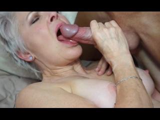 ПОРНО -- ЕЙ 65 -- У ПАРНЯ ВСТАЛ НА СТАРУХУ ,И ОНА ДАЛА -- porn sex milf mature gilf granny Lady Sextasy