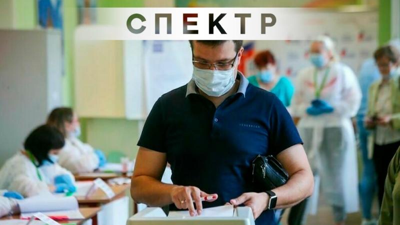 Провокатор толкнул наблюдателя на урны для надомного голосования в Москве
