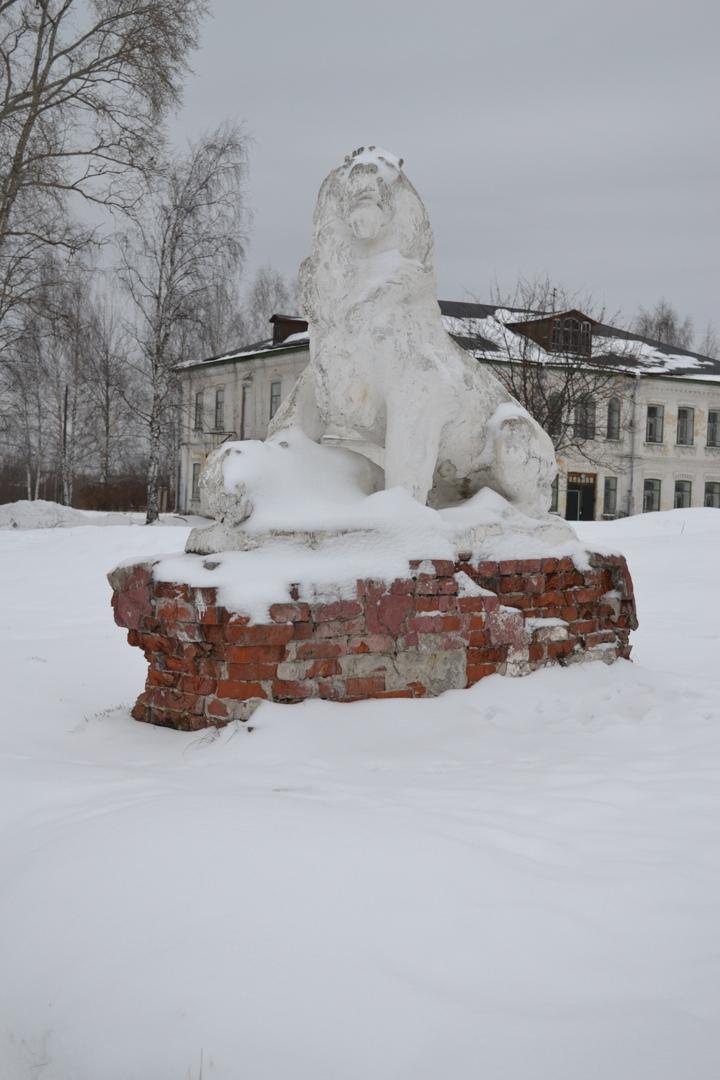 Царь зверей в Сольвычегодске., изображение №5