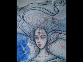 Госпожа Зима...Богиня Мара... И её Волки... Волшебные создания...