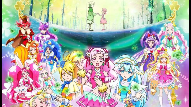 Хорошенькое лекарство Суперзвёзды Фильм Pretty Cure Super Stars Movie Русские субтитры