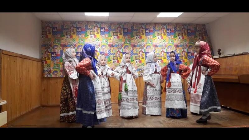 В хороводе были мы - Детский фольклорный ансамбль «Журавушка» (мл. гр.), преп. Шилкин В. А., концерт. Левчук Е. А.
