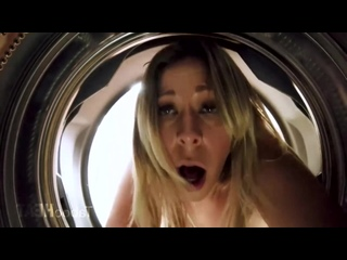 Nikki Brooks - Мать застряла в стиральной машинке porn 18+ hd sex anal milf big tits big ass incest gangbang hardcore  720