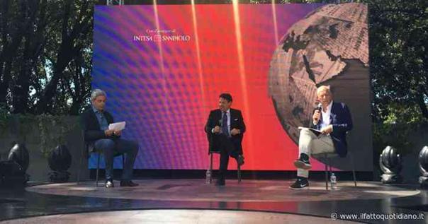 panel alla festa de IlFattoQuotidiano