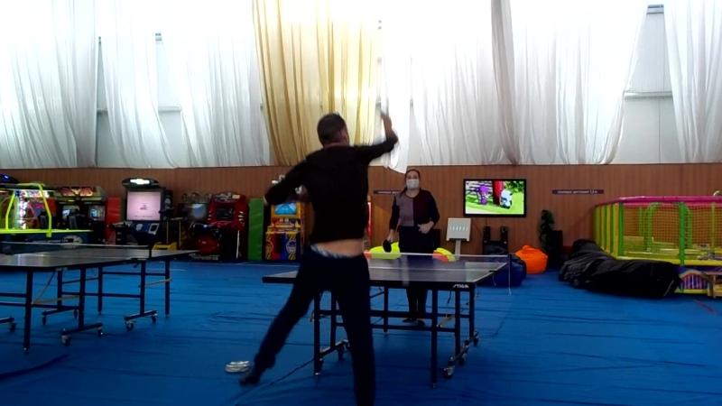 Пинг понг в Воздвиженском.