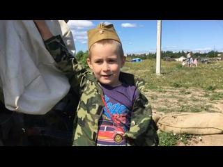 СТАЛЬНОЙ ДЕСАНТ ☆ танковый парк ☆ kullanıcısından video