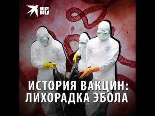 История вакцин: лихорадка Эбола