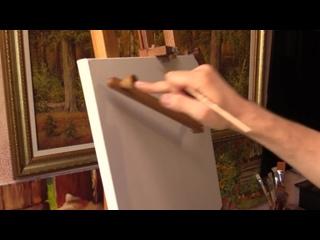 Художественный муштабель для занятий живописью и рисунком.