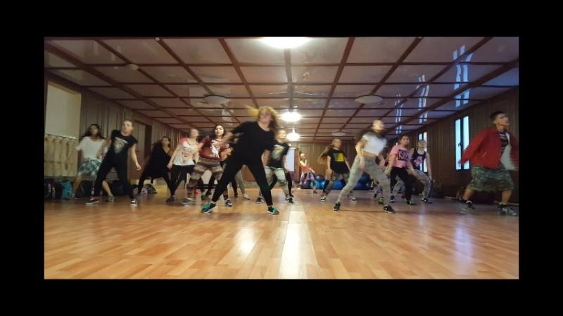 Dancehall class by JuliYago in Almaty