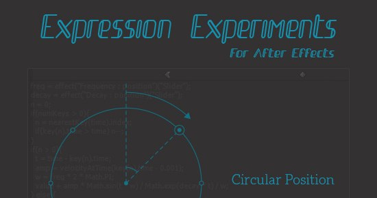 Эксперименты с выражениями в After Effects (+ проекты), изображение №2