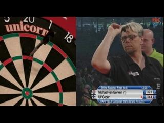 Michael van Gerwen vs Ulf Ceder (European Darts Grand Prix 2017 / Round 3)
