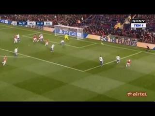 Гол Маруана Феллайни. Манчестер Юнайтед 1 - 0 Базель.