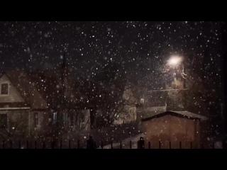 Апрельский снежный вальс вечерний