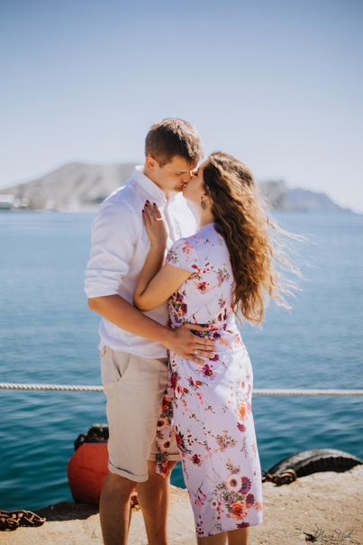 Фотосессия в Судаке (Love story) Саша и Сережа 9.18