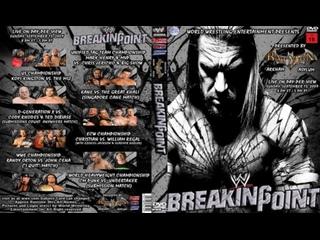 มวยปล้ำพากย์ไทย WWE Breaking Point 2009 Part 2 ครับ พี่น้อง เครดิตไฟล์ กลุ่มมวยปล้ำพากย์ไทย