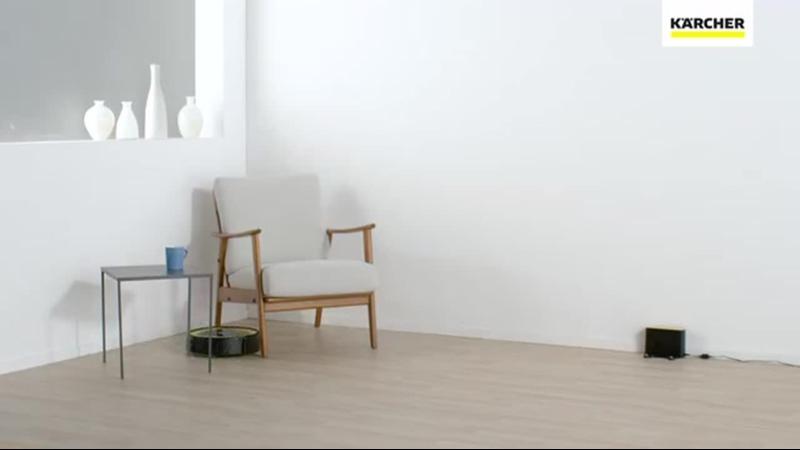 Видео Робот-пылесос KARCHER RC 3 смотреть онлайн