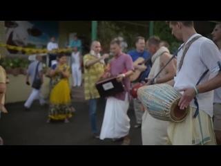 Супер харинама с Ратишекхаром пр на Садху-санге - г