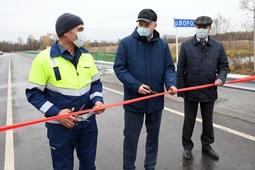 Новый мост в Преображеновке сдан в эксплуатацию